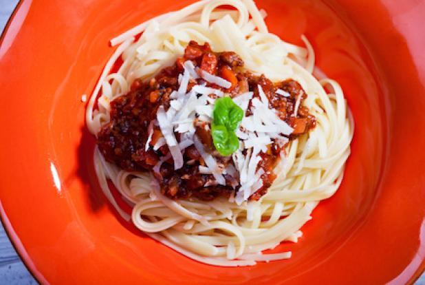 spaghettis bolognaise pour bébé