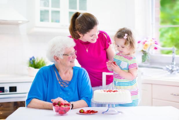 Laisser bébé chez les grands-parents... beaucoup d'avantages, peu d'inconvénients !