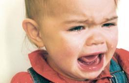enfant en train de pleurer