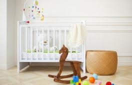 une chambre de bébé