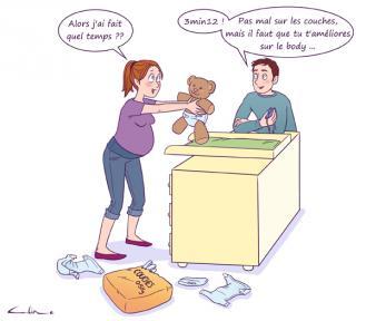 Couches mode d 39 emploi guide maman b b - Retour de couche combien de temps ...