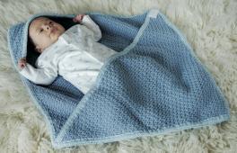 Passe-couloir tricoté à la main