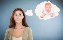une femme désire un bébé