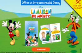 Livres Personnalisés Disney Code Promo
