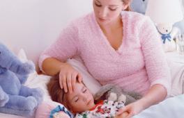 Maman au chevet de sa fille malade