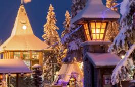Le bureau de Poste du Père Noel en Norvège